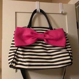 Large Betsey Johnson Weekender Bag Tote